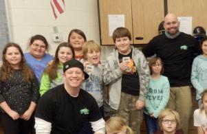 4th grade teacher, Mr. Matt Bodnar, was chosen as U93's Teacher of the Week (Jan. 31, 2017)