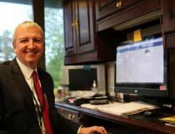 Dr. Thacker, Superintendent of P-H-M Schools