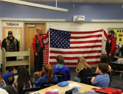 Veterans Visit Bittersweet Fifth Graders