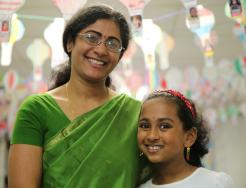 PHM mother & daughter student taken at Walt Disney Cultural Night May 2017