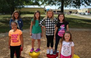 Bittersweet students enjoying recess