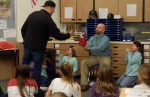 4th grade teacher, Mr. Matt Bodnar, was chosen as U93's Teacher of the Week (Jan. 31, 2017)