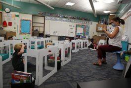 Mrs. Wallick's Kindergarten classroom